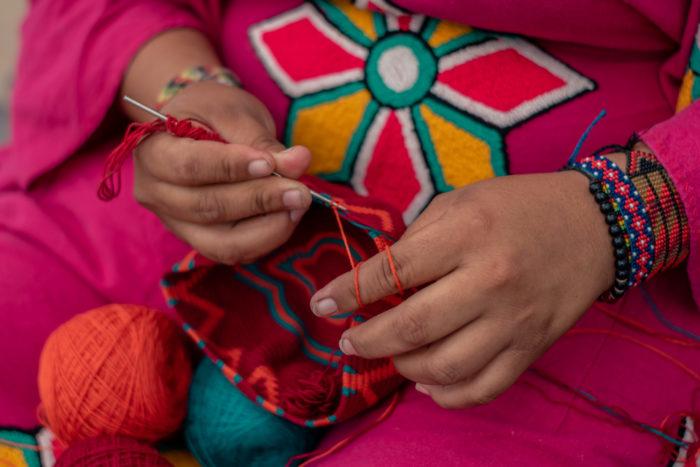 AALUNA 100% Handmade Wayuu Handbags
